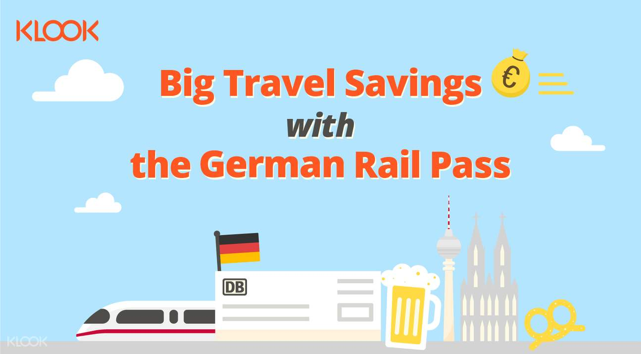 savings with german rail pass (flexible)